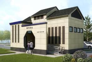 锡山城区2座城市驿站启动建设